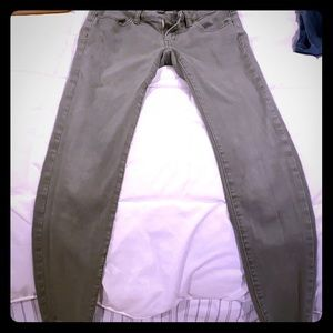 American Eagle super stretch skinny jeggings.